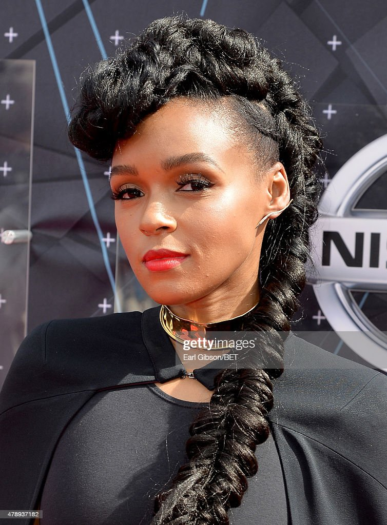 Singer Janelle Monae attends the 2015 BET Awards at the Microsoft Theater on June 28, 2015 in Los Angeles, California.