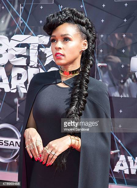 Singer Janelle Monae attends the 2015 BET Awards on June 28 2015 in Los Angeles California