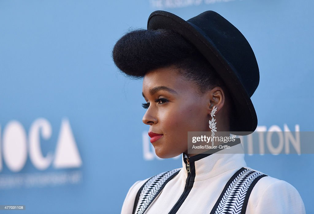 Singer Janelle Monae attends the 2015 MOCA Gala at The Geffen Contemporary at MOCA on May 30, 2015 in Los Angeles, California.