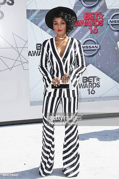 Singer Janelle Monae attends the 2016 BET Awards at the Microsoft Theater on June 26 2016 in Los Angeles California