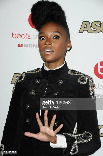 Singer Janelle Monae attends the 23rd annual ASCAP Rhythm Soul Music Awards at The Beverly Hilton hotel on June 25 2010 in Beverly Hills California