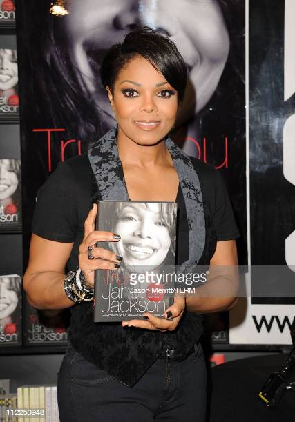 Janet Jackson Book Signing For True You A Guide To Finding