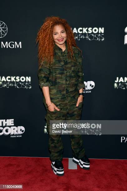 "Singer Janet Jackson attends her residency debut ""Metamorphosis"" after party at On The Record Speakeasy and Club at Park MGM on May 17, 2019 in Las..."