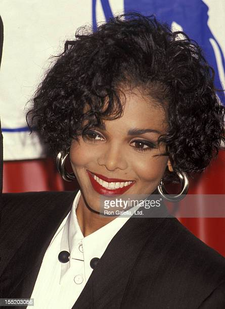 Singer Janet Jackson attends The Child in All Us Part III The Starlight Children's Foundation of Southern California's Eighth Annual Benefit Gala to...