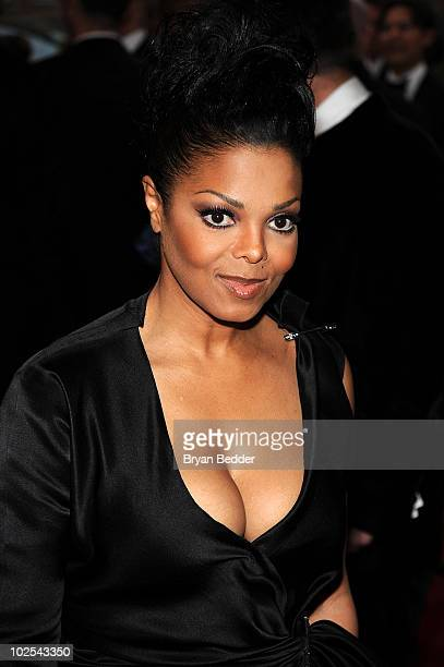 Singer Janet Jackson attends the Metropolitan Museum of Art's 2010 Costume Institute Ball at The Metropolitan Museum of Art on May 3 2010 in New York...