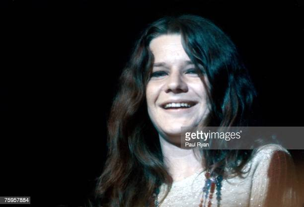 Photo of Janis Joplin at the Monterey Pop Festival
