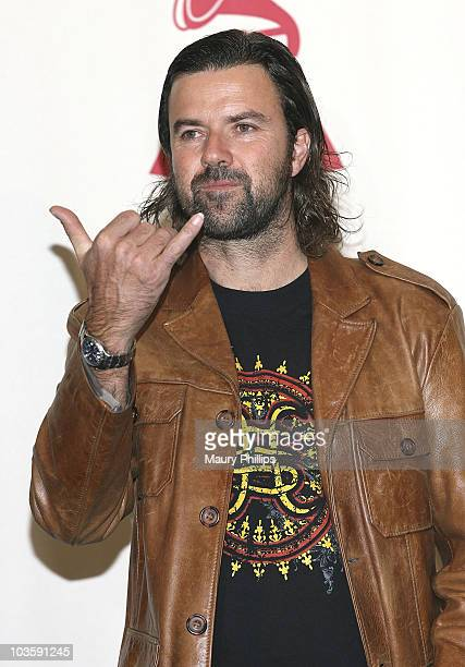 Singer Jarabe De Palo in the press room at the 8th Annual Latin GRAMMY Awards at Mandalay Bay on November 8 2007 in Las Vegas Nevada