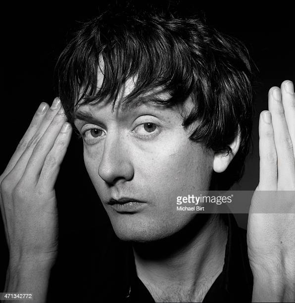 Singer Jarvis Cocker is photographed on August 20 2002 in London England