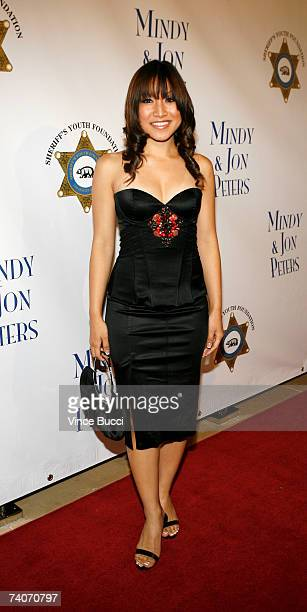 Singer Jasmine Trias attends the Los Angeles County Sheriff's Youth Foundation's annual Salute To Youth benefit dinner honoring producers Jon and...