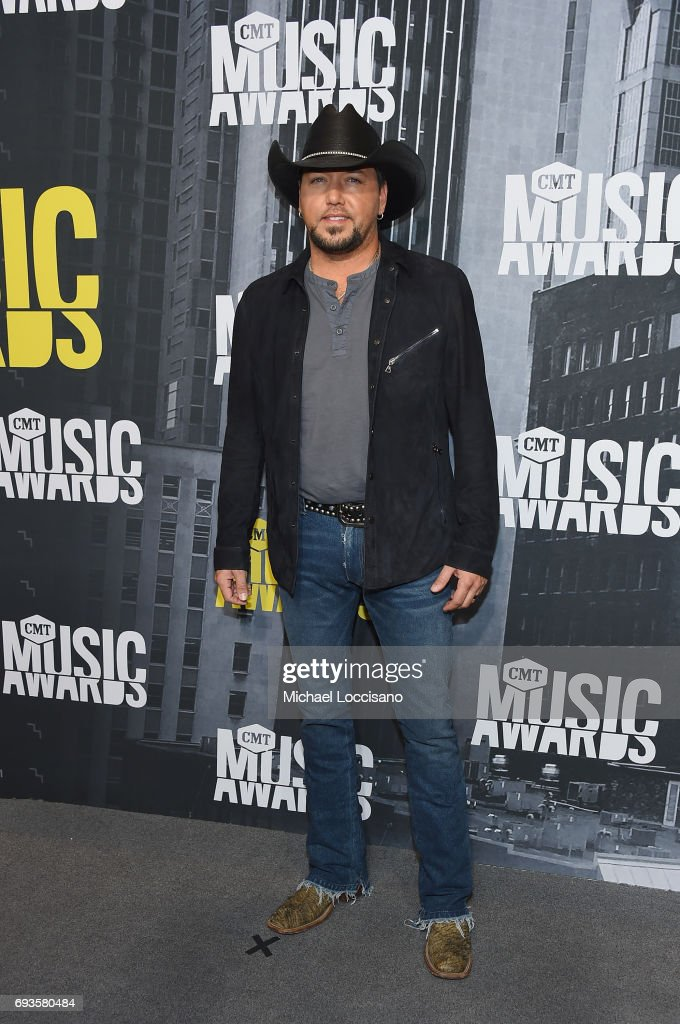 Singer Jason Aldean attends the 2017 CMT Music Awards at the Music City Center on June 7, 2017 in Nashville, Tennessee.