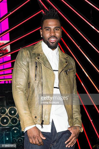 Singer Jason Darulo attends the iHeartRadio Music Awards press preview at The Forum on March 31 2016 in Inglewood Calfornia