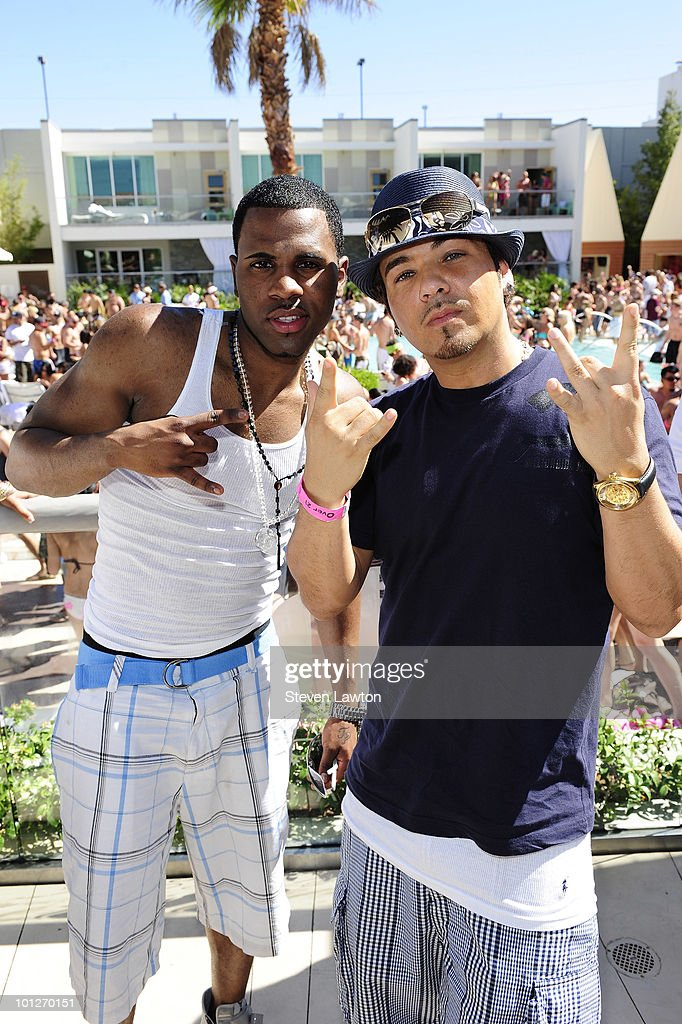 Singer Jason Derulo and Baby Bash attend 2nd annual 'Love Festival' at The Palms Casino Resort on May 29, 2010 in Las Vegas, Nevada.