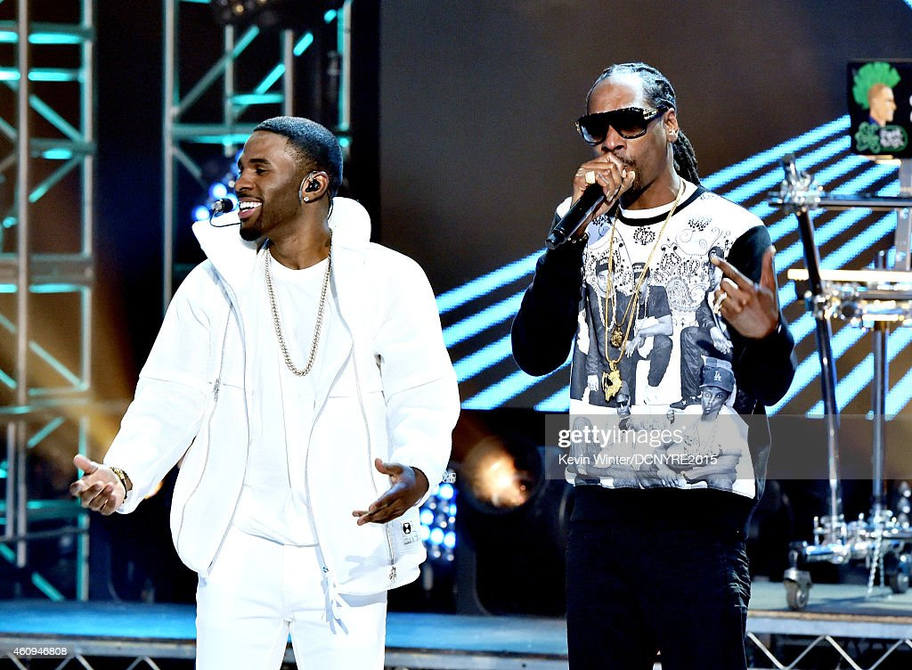 Singer Jason Derulo And Rapper Snoop Dogg Perform At Dick -6174