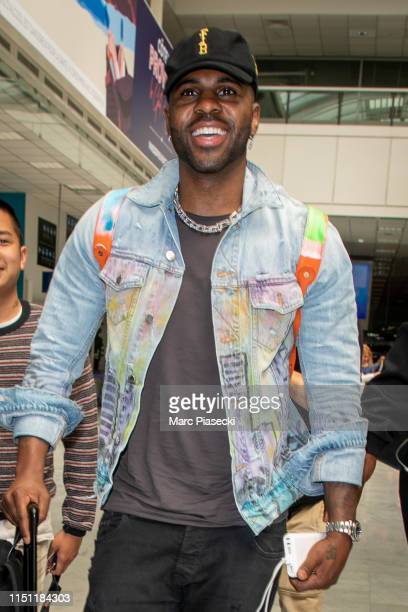 Singer Jason Derulo arrives ahead the 72nd annual Cannes Film Festival at Nice Airport on May 23 2019 in Nice France