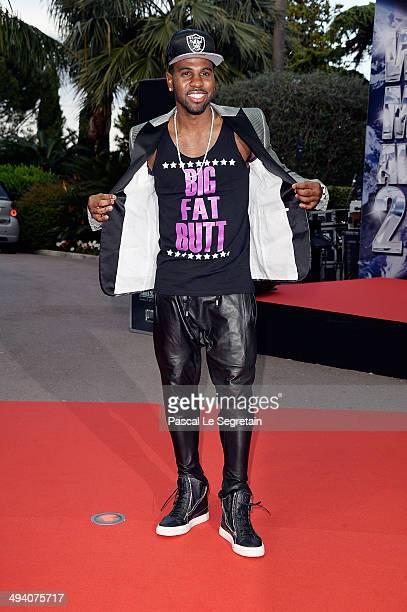 Singer Jason Derulo arrives the World Music Awards at Sporting MonteCarlo on May 27 2014 in MonteCarlo Monaco