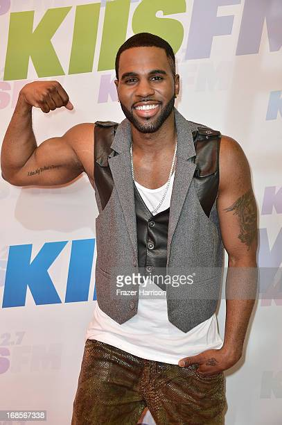 Singer Jason Derulo attends 1027 KIIS FM's Wango Tango 2013 held at The Home Depot Center on May 11 2013 in Carson California