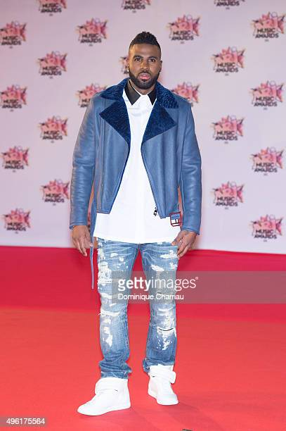 Singer Jason derulo attends the 17th NRJ Music Awards at Palais Des Festivals In Cannes on November 7 2015 in Cannes France