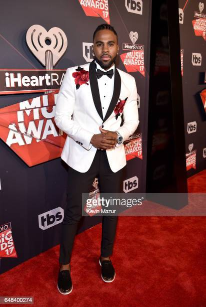 Singer Jason Derulo attends the 2017 iHeartRadio Music Awards which broadcast live on Turner's TBS TNT and truTV at The Forum on March 5 2017 in...