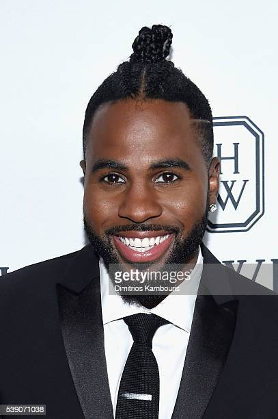 Singer Jason Derulo attends the 7th Annual amfAR Inspiration Gala New York at Skylight at Moynihan Station on June 9 2016 in New York City