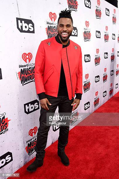 Singer Jason Derulo attends the iHeartRadio Music Awards at The Forum on April 3 2016 in Inglewood California