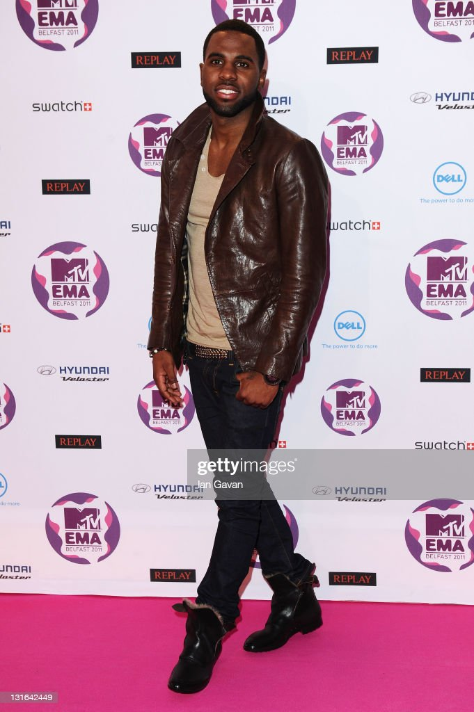 Singer Jason Derulo attends the MTV Europe Music Awards 2011 at the Odyssey Arena on November 6, 2011 in Belfast, Northern Ireland.