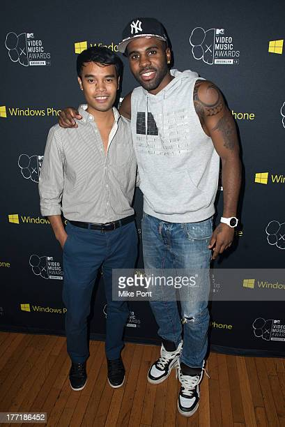 Singer Jason Derulo attends the VMA Song of the Summer Celebration presented by MTV and Windows Phone at Music Hall of Williamsburg on August 21 2013...