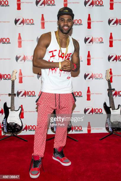 Singer Jason Derulo attends the Z100 CocaCola All Access Lounge at Hammerstein Ballroom on December 13 2013 in New York City