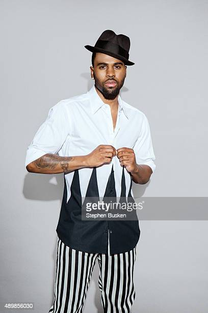 Singer Jason Derulo is photographed for Glamoholic on May 11 2015 in Burbank California