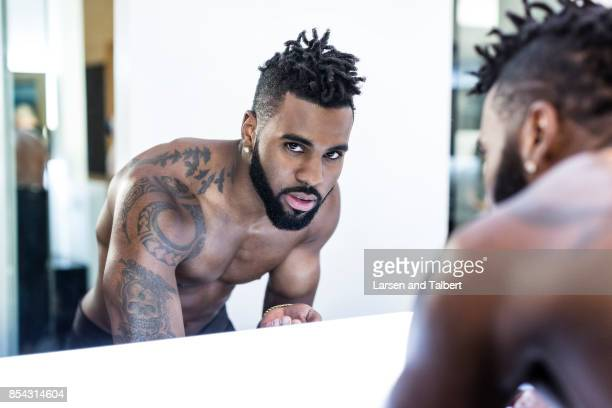 Singer Jason Derulo is photographed in his home for People Magazine on February 26 2016 in Tarzana California PUBLISHED IMAGE