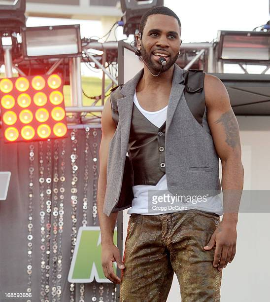 Singer Jason Derulo performs at 1027 KIIS FM's Wango Tango at The Home Depot Center on May 11 2013 in Carson California