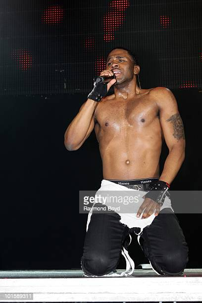 Singer Jason Derulo performs at the Allstate Arena in Rosemont Illinois on MAY 21 2010
