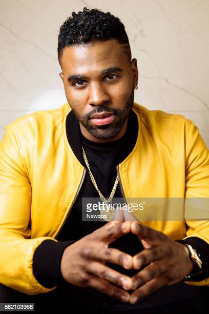 SYDNEY NSW Singer Jason Derulo poses during a photo shoot at the Darling Hotel in Sydney New South Wales
