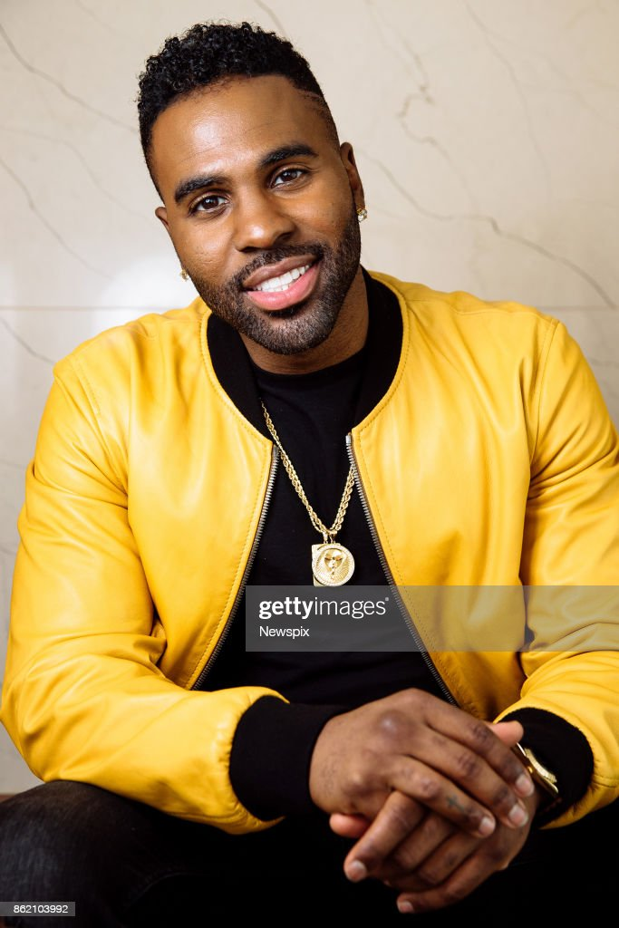 SYDNEY, NSW - (EUROPE AND AUSTRALASIA OUT) Singer Jason Derulo poses during a photo shoot at the Darling Hotel in Sydney, New South Wales.