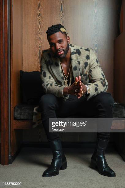 SYDNEY NSW Singer Jason Derulo poses during a photo shoot in Sydney New South Wales
