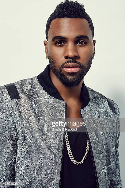 Singer Jason Derulo poses for a portrait at the 1027 KIIS FM's Wango Tango portrait studio for People Magazine on May 9 2015 in Carson California