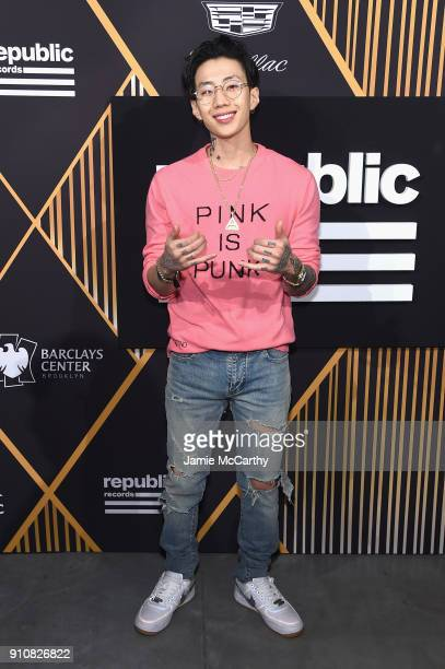Singer Jay Park attends Republic Records Celebrates the GRAMMY Awards in Partnership with Cadillac Ciroc and Barclays Center at Cadillac House on...
