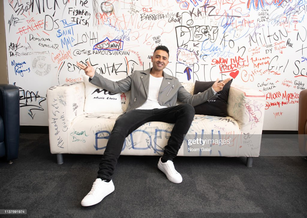 NY: Jay Sean Visits Music Choice