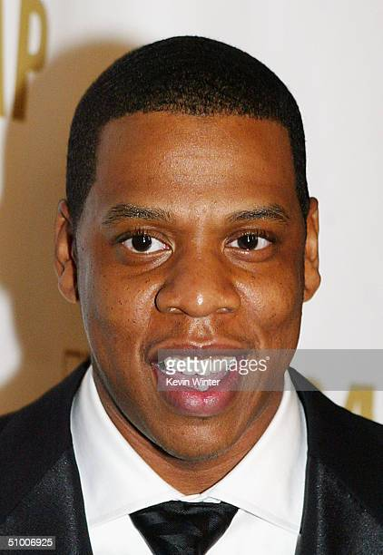 Singer JayZ poses at ASCAP's 17th Annual Rhythm Soul Music Awards at the Beverly Hilton Hotel on June 28 2004 in Los Angeles California