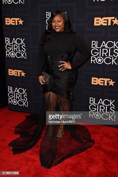 Singer Jazmine Sullivan attends Black Girls Rock 2016 on April 1 2016 in New York City