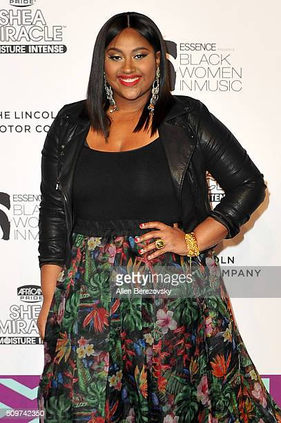 Singer Jazmine Sullivan attends ESSENCE 7th Annual Black Women In Music at Avalon Hollywood on February 11 2016 in Los Angeles California
