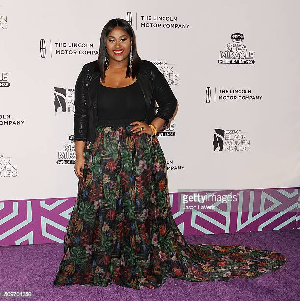 Singer Jazmine Sullivan attends the ESSENCE 7th annual Black Women In Music event at Avalon Hollywood on February 11 2016 in Los Angeles California