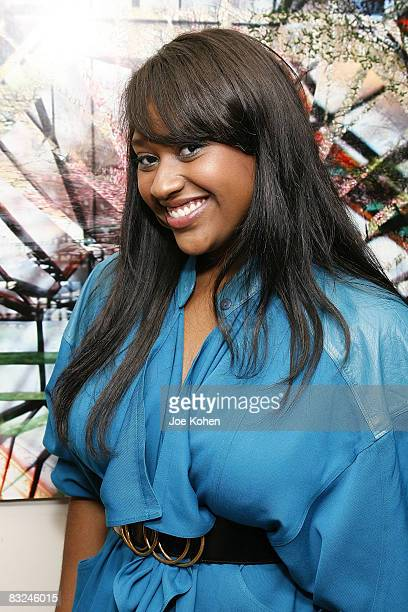 Singer Jazmine Sullivan attends the New York Chapter of the National Academy of Recording Arts and Sciences Open House Reception at the New York...