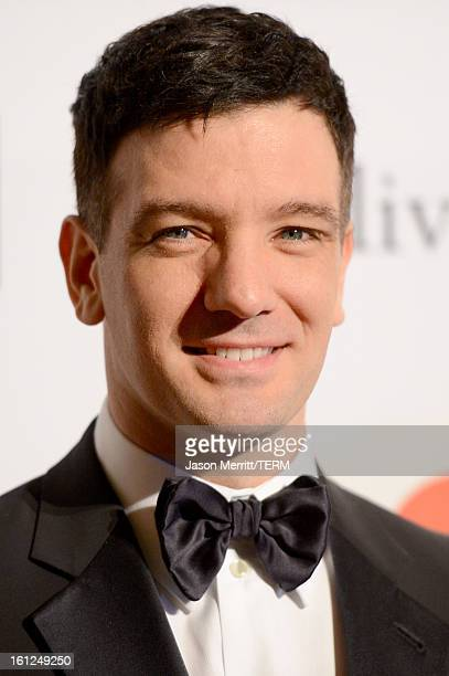 Singer JC Chasez arrives at Clive Davis The Recording Academy's 2013 PreGRAMMY Gala and Salute to Industry Icons honoring Antonio LA Reid at The...