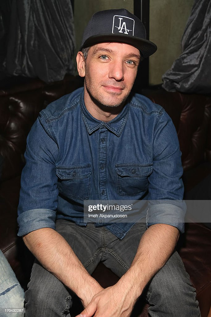 Singer JC Chasez attends Matthew Morrison's performance at The Sayers Club on June 12, 2013 in Hollywood, California.