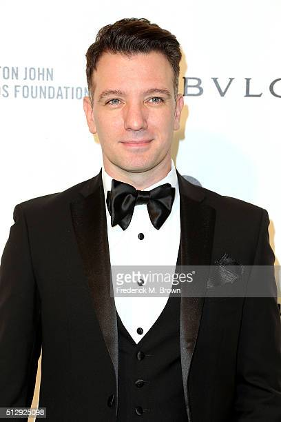 Singer JC Chasez attends the 24th Annual Elton John AIDS Foundation's Oscar Viewing Party on February 28 2016 in West Hollywood California