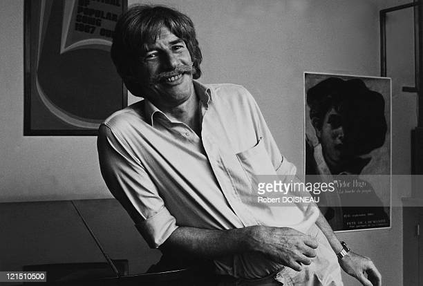 Singer Jean Ferrat 1985