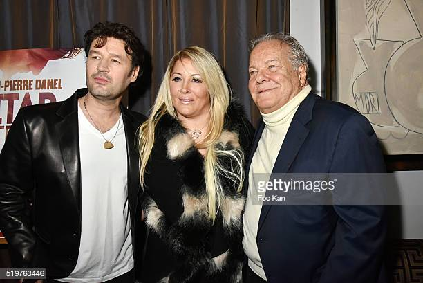 Singer Jean Pierre Danel Loana Petrucciani and Massimo Gargia attend 'Guitar Tribute' by Golden disc awarded Jean Pierre Danel at Hotel Burgundy on...