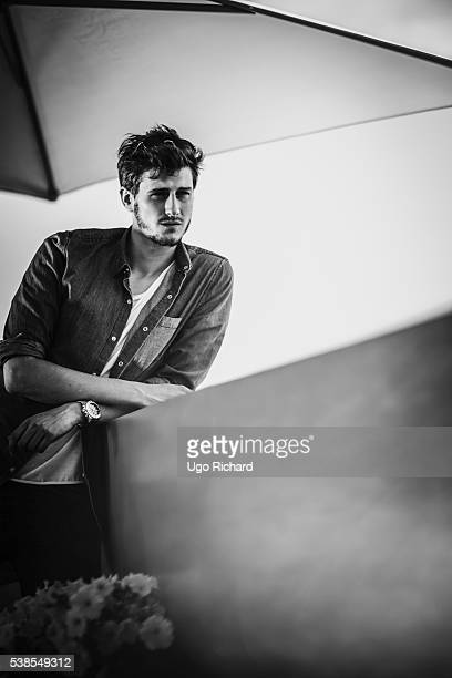 Singer JeanBaptiste Maunier is photographed for Gala on May 15 2016 in Cannes France