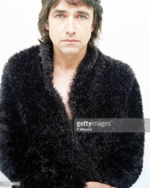 Singer JeanLouis Murat is photographed for Self Assignment on November 20 1996 in Vichy France