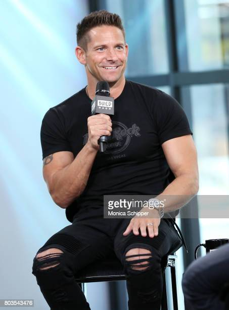 Singer Jeff Timmons discusses his upcoming tour and solo album at Build Studio on June 29 2017 in New York City